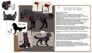 Zero BlackFire Wolf Form Ref by xKoday