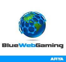 Logo 47 - BlueWEbGaming by AryaInk