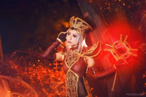 World of Warcraft - Sally Whitemane by miyoaldy