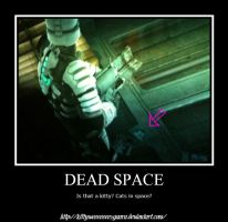Dead Space kitty by LeonKSpiderKitty