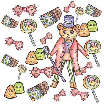 Sweet factory pattern by twopixies