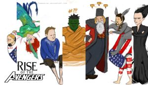 Avengers Time! - All together now! by moonklin