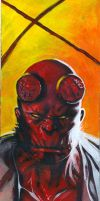 Hellboy by fabiomantovani