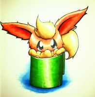 Cup of Flareon by Cubone4000