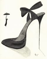 Mary Poppins' Shoe by meregoddess