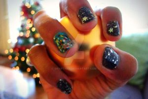 X'mas Nail Art by swapthat