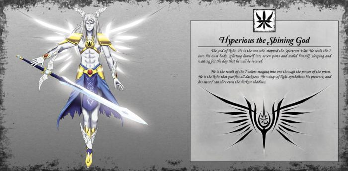 Hyperious the Shining God by TakemaKei