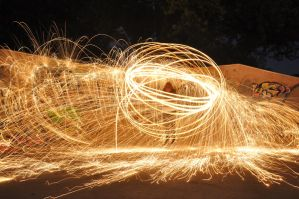 Fun With Steel Wool 2.0 by CzarcasticRemarx