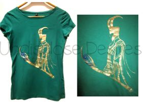 The Avengers - Loki - T-shirt by Undisclose--Desires