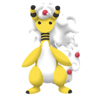 Mega Ampharos by Mossinescence