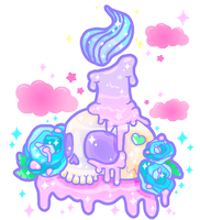 Melty Candle Sparkle by MissJediflip