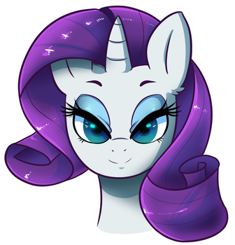 Rarity colored by HearlessSoul