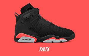 Air Jordan 6 'Infrared' by BBoyKai91