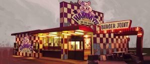 Hammy's Burger Joint by atomhawk