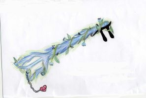my keyblade by crazedhobbit