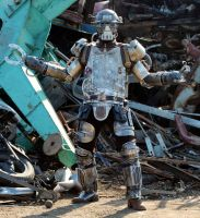 Steampunk Mechanical Soldier Mk I (2) by Zilochius