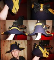 Royal Navy Captains hat by GeneralVyse