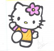 Hello Kitty by brainypoo
