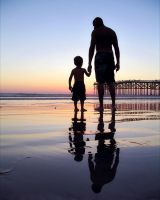Father and Son by melaniumom