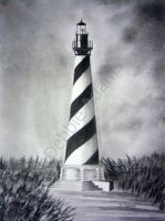 The Cape Hatteras Lighthouse by DebbieAdams