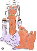 Urd's Feet by Sasori711