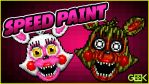 Adventure Phantom Mangle - SPEEDPAINT - FNAF World by GEEKsomniac