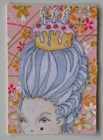 ATC Marie Antoinette by hogret
