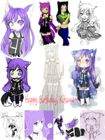 Birthday card for kitsu by blackrosethornes