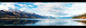 Lake Wakatipu, New Zealand. by pmd1138