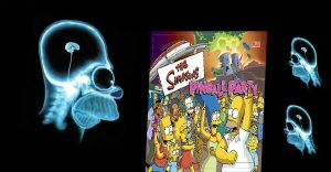 Homers brain with pinballparty by azmustang14