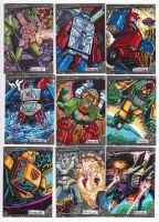 Transformers Card Set 2012 by fbwash