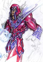 Magneto: Metallic Rage by SavageMouse