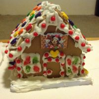 Mickey and Minne Gingerbread House Pic 4 by invaderjade1