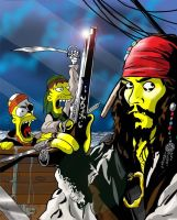 Pirates Of Springfield by jlfletch