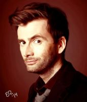 David Tennant by WillRepent