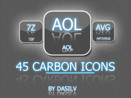 Carbon Dock icons by dasilv