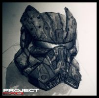 -Project EXO- TM: 01 - Helmet by Ragaru