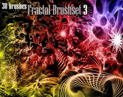 Fractal brushes 3 by memories-stock