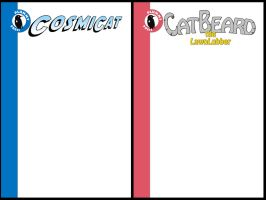Comic Book Cover Templates by PlummyPress