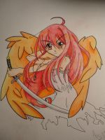 shakugan no shana flame haze by Spirit-woods