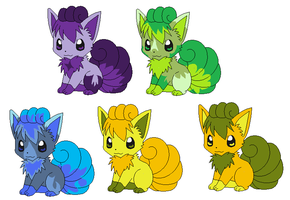Vulpix Adopts ::CLOSED:: by DappleFeather