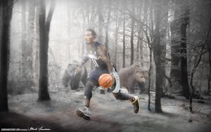 Mike Conley by Sanoinoi