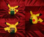 Cosplay Onigiri - Pikachu by merlinemrys