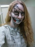 Fright Fest Airbrushed Zombie by StageArtisan