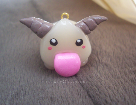 Poro League of Legends Polymer Clay by Stawry