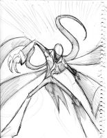 slenderman attacking action pose by winddragon24