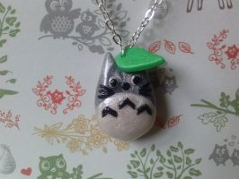 My Neighbor Totoro Necklace by CharmingLittleFox