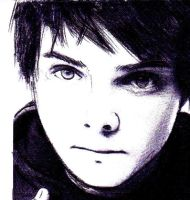 drawing of Gerard way by kaikirito