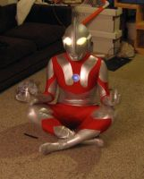 Lifesize Ultraman Action doll by petshop00