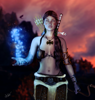 Daughter of Skyrim by 0Snow-White0